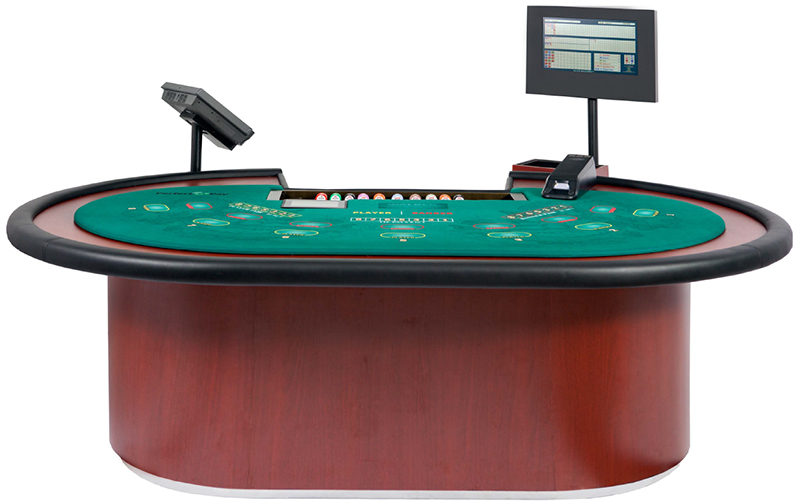 Perfect Pay Baccarat Table